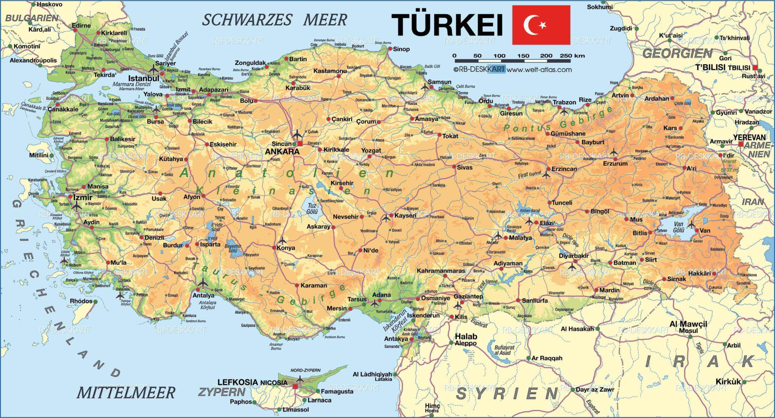 Geography | Turkey and Climate Change